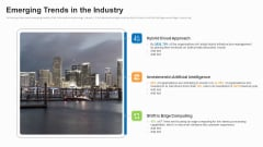 Business To Business Market Segmentation Criteria Emerging Trends In The Industry Background PDF