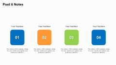 Business To Business Market Segmentation Criteria Post It Notes Portrait PDF