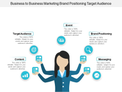 Business To Business Marketing Brand Positioning Target Audience Ppt PowerPoint Presentation Show Design Inspiration