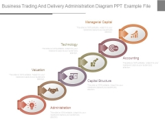 Business Trading And Delivery Administration Diagram Ppt Example File
