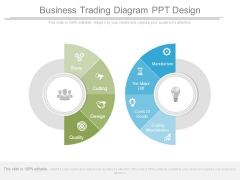 Business Trading Diagram Ppt Design