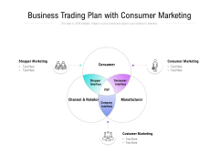 Business Trading Plan With Consumer Marketing Ppt PowerPoint Presentation Icon Mockup