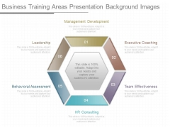 Business Training Areas Presentation Background Images
