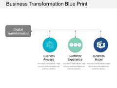 Business Transformation Blue Print Ppt Powerpoint Presentation Infographics Background