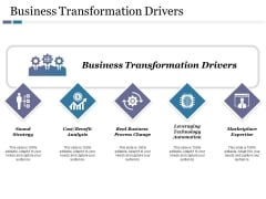 Business Transformation Drivers Ppt PowerPoint Presentation File Inspiration