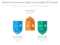 Business Transformation Opportunities Template Ppt Example