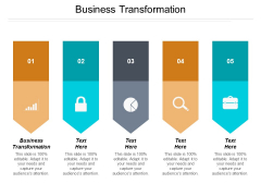 Business Transformation Ppt PowerPoint Presentation Infographic Template Topics