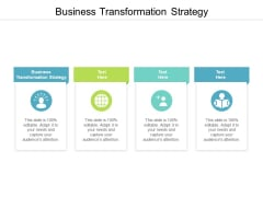Business Transformation Strategy Ppt PowerPoint Presentation Portfolio Rules Cpb