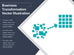 Business Transformation Vector Illustration Ppt PowerPoint Presentation Layouts Icon PDF