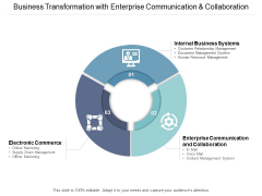 Business Transformation With Enterprise Communication And Collaboration Ppt PowerPoint Presentation Styles Guidelines