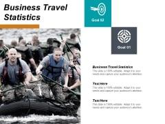 Business Travel Statistics Ppt PowerPoint Presentation Icon Information Cpb
