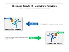 Business Trends Of Headwinds Tailwinds Ppt PowerPoint Presentation Gallery Format PDF