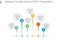 Business Triumph Sample Of Ppt Presentation