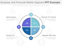 Business Unit Financial Market Segment Ppt Example