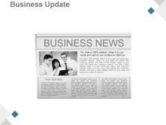 Business Update Ppt PowerPoint Presentation Background Image