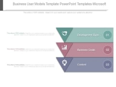 Business User Models Template Powerpoint Templates Microsoft
