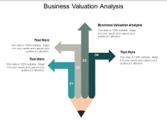 Business Valuation Analysis Ppt PowerPoint Presentation Infographics Outline