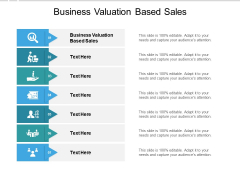 Business Valuation Based Sales Ppt PowerPoint Presentation Infographics Graphics Cpb