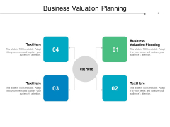 Business Valuation Planning Ppt PowerPoint Presentation Ideas Graphics Pictures Cpb
