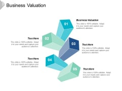 Business Valuation Ppt Powerpoint Presentation Icon Slide Cpb
