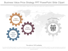 Business Value Price Strategy Ppt Powerpoint Slide Clipart