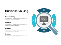 Business Valuing Ppt PowerPoint Presentation Pictures Graphics Tutorials Cpb