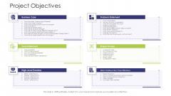 Business Venture Tactical Planning Complete PPT Deck Project Objectives Case Background PDF