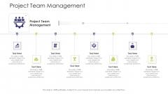 Business Venture Tactical Planning Complete PPT Deck Project Team Management Template PDF