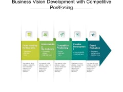 Business Vision Development With Competitive Positioning Ppt PowerPoint Presentation Gallery Slides PDF