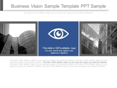 Business Vision Sample Template Ppt Sample