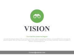 Business Vision Slide For Future Planning Powerpoint Slides