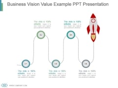 Business Vision Value Example Ppt Presentation