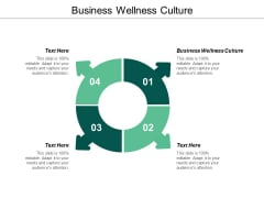 Business Wellness Culture Ppt Powerpoint Presentation Outline Model Cpb