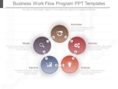 Business Work Flow Program Ppt Templates