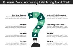 Business Works Accounting Establishing Good Credit Capacity Utilisation Ppt PowerPoint Presentation Portfolio Design Ideas