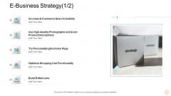 Businesses Digital Technologies E Business Strategy Lists Demonstration PDF