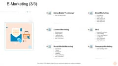 Businesses Digital Technologies E Marketing Graphics PDF