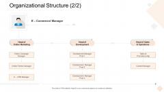 Businesses Digital Technologies Organizational Structure Brochure PDF