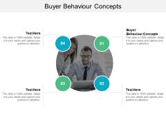 Buyer Behaviour Concepts Ppt PowerPoint Presentation Outline Smartart Cpb