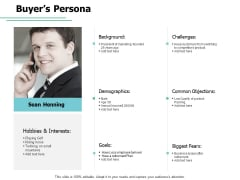 Buyer Persona Demographics Ppt PowerPoint Presentation Portfolio Styles