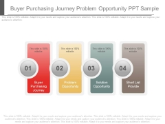 Buyer Purchasing Journey Problem Opportunity Ppt Sample