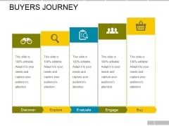 Buyers Journey Ppt PowerPoint Presentation Slides Images