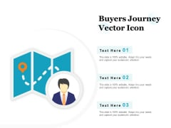 Buyers Journey Vector Icon Ppt PowerPoint Presentation Summary Influencers