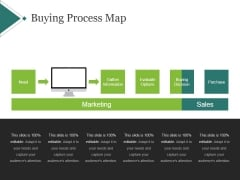 Buying Process Map Template 1 Ppt PowerPoint Presentation Topics