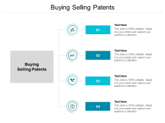 Buying Selling Patents Ppt PowerPoint Presentation Professional Good Cpb