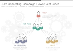 Buzz Generating Campaign Powerpoint Slides