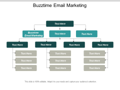 Buzztime Email Marketing Ppt Powerpoint Presentation Show Microsoft Cpb