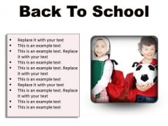 Back To School Education PowerPoint Presentation Slides S