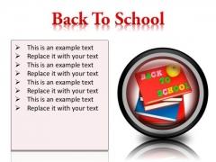 Back To School Future PowerPoint Presentation Slides Cc