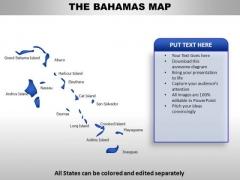 Bahamas PowerPoint Maps